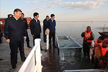 习近平来到查干湖:保护生态和发展生态旅游相得益彰